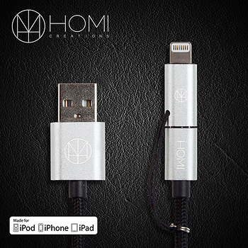 HOMI MFI蘋果認證 Lightning & Micro USB to USB Cable 傳輸充電線