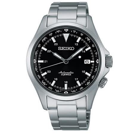 SEIKO 6R15精工 商務機械腕錶-黑/40mm 6R15-02N0D(SARG003J)