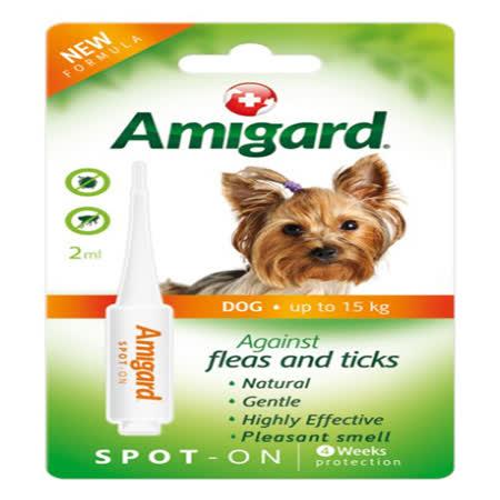 天然驅蚤滴劑-小型犬15kg (2ml)