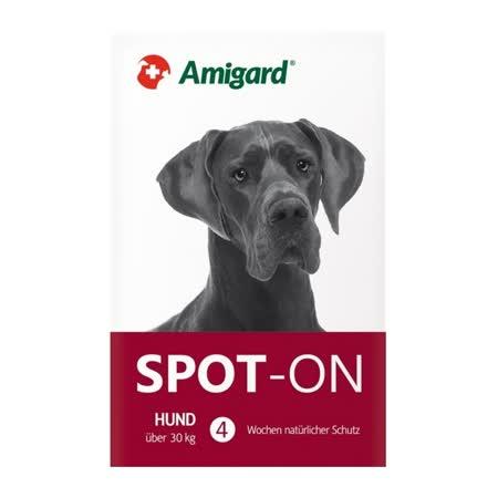 【瑞士】安美佳Amigard天然驅蚤滴劑-超大型犬30kg (6ml)