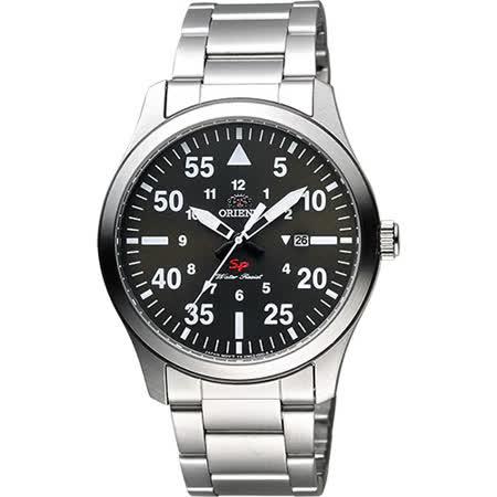 【好物推薦】gohappy線上購物ORIENT 東方錶 SP 系列 飛行運動石英錶-綠x銀/42mm FUNG2001F好嗎太平洋 sogo 中 壢
