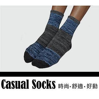 HANG TEN 1/2休閒彩色防滑襪-黑/灰/粉