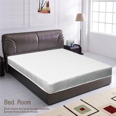 【愛麗娜】高碳鋼輕鬆睡彈簧雙人床墊(雙人5尺)