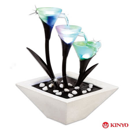 【KINYO】時來運轉-花咏光彩(GAR-6009)