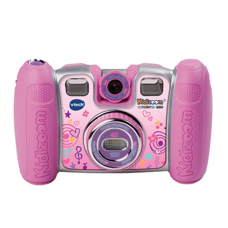 【Vtech】多功能兒童遊戲相機-粉