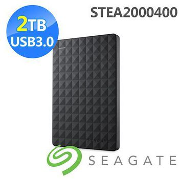 Seagate Seagate 新黑鑽 2TB USB3.0 2.5吋行動硬碟 STEA2000400