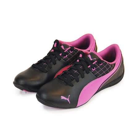 (大童)PUMA DRIFT CAT 6 L JR 休閒鞋 黑/紫-30518210