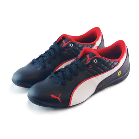 (大童)PUMA DRIFT CAT 6 L NM SF JR 休閒鞋 黑/紅-35877501