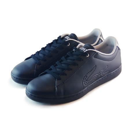 (女)LACOSTE CARNABY EVO 116 1 SPJ 休閒鞋 黑-PJ0002-2A2