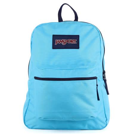 JanSport校園背包(SOVEREXPOSED)-月光藍