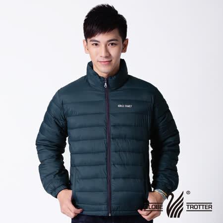 【遊遍天下】中性款防風防潑水保溫科技棉外套A017丈青