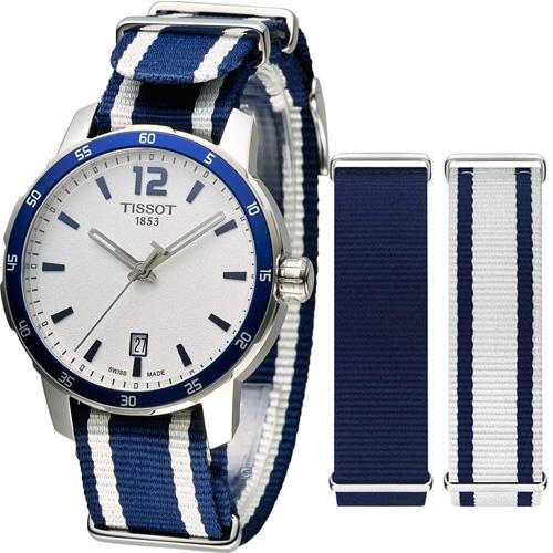 天梭 TISSOT Quickster 時捷系列 腕錶 T0954101703701
