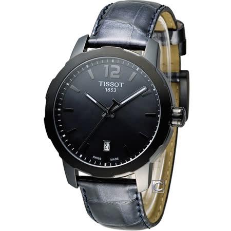 天梭 TISSOT Quickster 經典系列時尚運動腕錶 T0954103612700