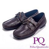 PQ(男)英倫風帆船設計休閒鞋男鞋-咖