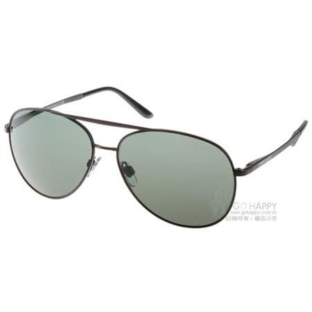 GIORGIO ARMANI太陽眼鏡 百搭飛官款(黑) #GA6030 300171