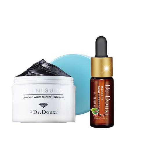 【買一送一】Dr.Douxi 朵璽 XIN NI SUNG 驅黑鑽白水凝膜 (150g)