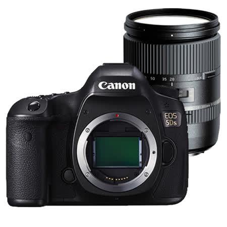 Canon EOS 5Ds 單機身+Tamron 28-300mm pzd*(中文平輸)-送SD64G-C10記憶卡+強力大吹球+細毛刷+專屬拭鏡布+清潔組+硬保