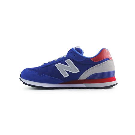 (男)NEW BALANCE 復古鞋 藍/紅-ML515CCA
