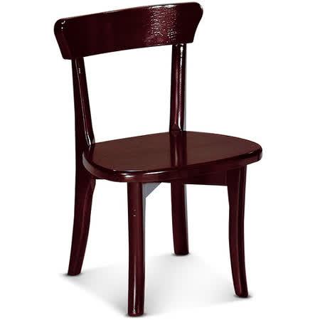 椅吧 簡約舒適實木矮餐椅