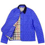 BURBERRY 英倫鋪棉紳士外套(XL號)-藍色格紋