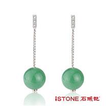 石頭記 東菱玉耳環-風情萬種