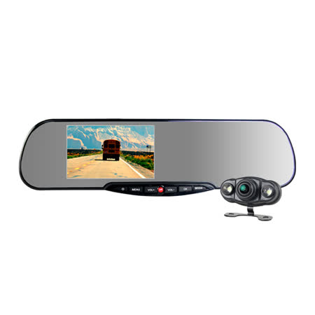 愛國者HD3300 雙鏡頭行車記錄器(贈32G行車紀錄器排行榜CLA10記憶卡+免費安裝)