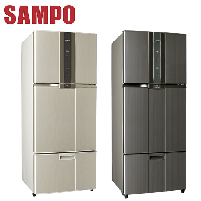 ^~ ^~SAMPO聲寶 580公升一級變頻三門冰箱SR~N58DV^(Y2K2^)送