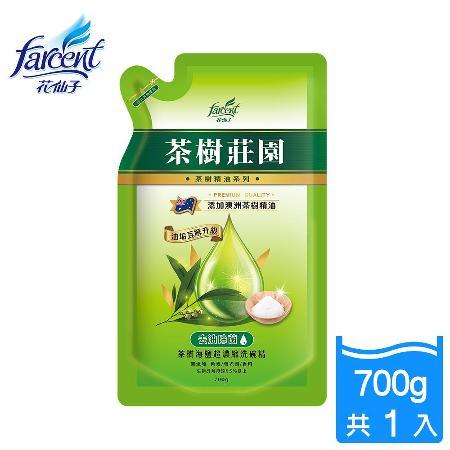 【茶樹莊園】茶樹超濃縮洗碗精-700ml補充包_JK2181XXF