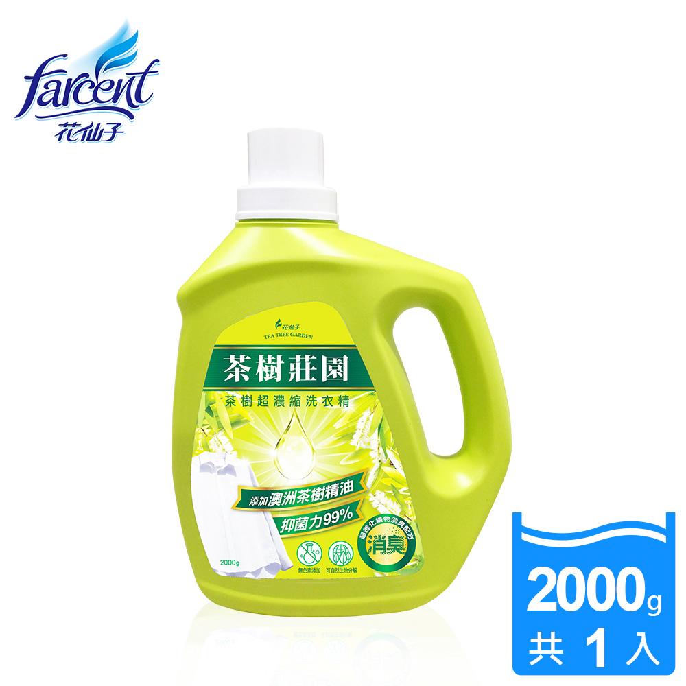 ~茶樹莊園~茶樹超濃縮洗衣精~2000ml_JS1012XXF