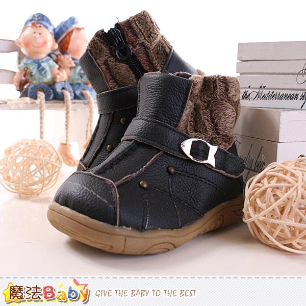 魔法Baby~男童鞋 秋冬外出短靴 sh9500