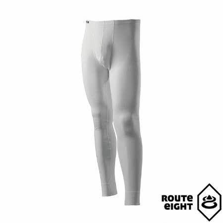 Route8 男 WARM 保暖內搭褲(白色)