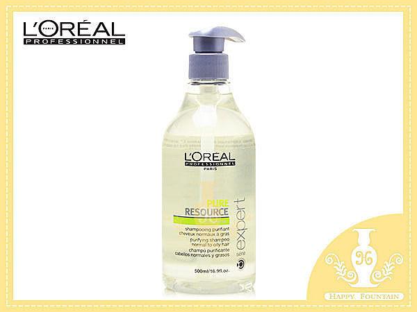 萊雅 LOREAL 清新油脂均衡淨髮露 500ml