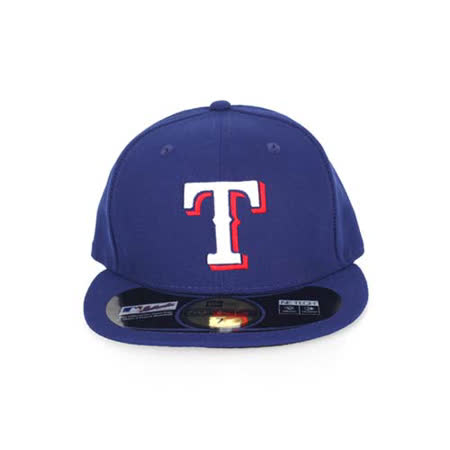 MLB NEW ERA 遊騎兵隊帽-AC- 球員帽 59FIFTY 德州 藍白紅