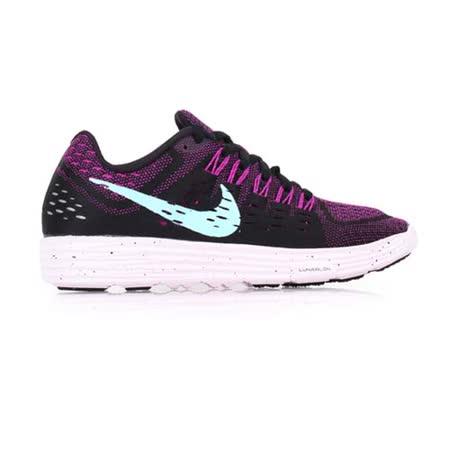 (女) NIKE WMNS LUNARTEMPO 慢跑鞋- 路跑 運動 黑紫水藍