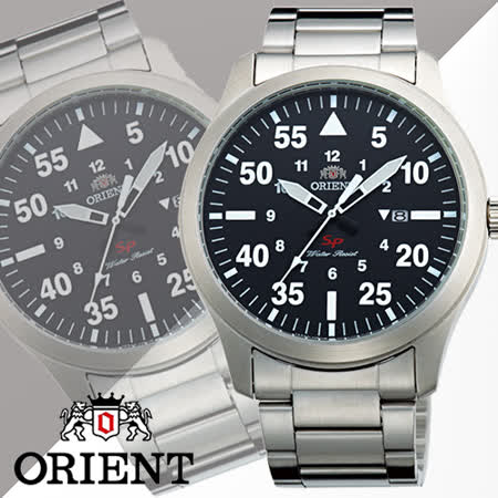 ORIENT 東方 SP 系列 復古飛行運動男用石英腕錶-42mm/FUNG2001B
