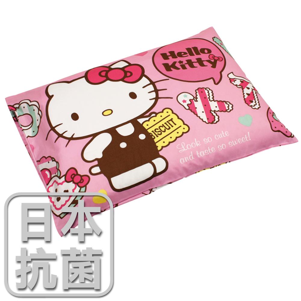 ~鴻宇HongYew~兒童 乳膠枕~Hello Kitty繽紛甜心^(粉^) HK2002