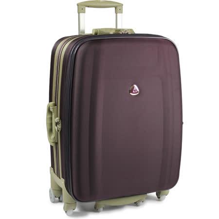 【Audi 奧迪】20吋~時尚系列TSA~Audi行李箱/旅行箱LT-71720-深紫