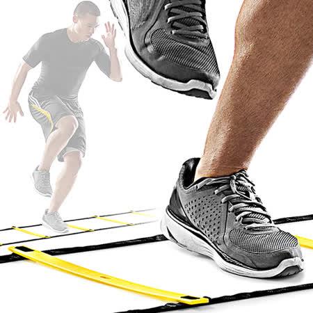QUICK LADDER靈敏步伐梯4M敏捷梯C109-51214跳格步梯速度梯繩梯能量梯.田徑跑步足球訓練梯子.運動健身器材