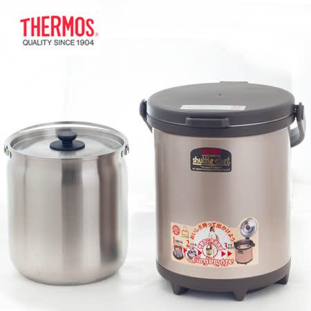 THERMOS 膳魔師6L外出型(6.0*1)厚底燜燒鍋 RPC-6000W