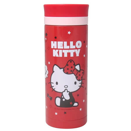 【HELLO KITTY】凱蒂貓真空保溫杯350ml KF-5835