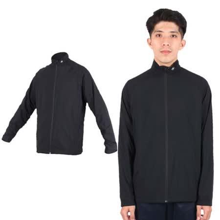 (男) MJ3 雙層拉鍊外套- 立領 台灣製 黑