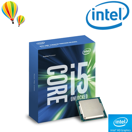intel 第六代 Core i5-6600K 四核心處理器 ( 無風扇 / 代理商盒裝 )