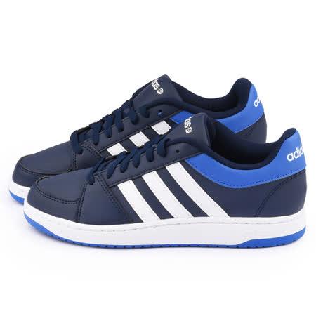 Adidas 男款 NEO系列休閒鞋F98405-藍