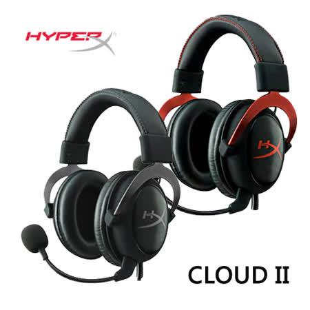 Kingston 金士頓 HyperX CLOUD II 電競耳機