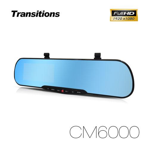 全視線 CM6000 1080P 超長待機十天停車監控 後視鏡行車記錄器(送16G TF機車行車記錄器卡)