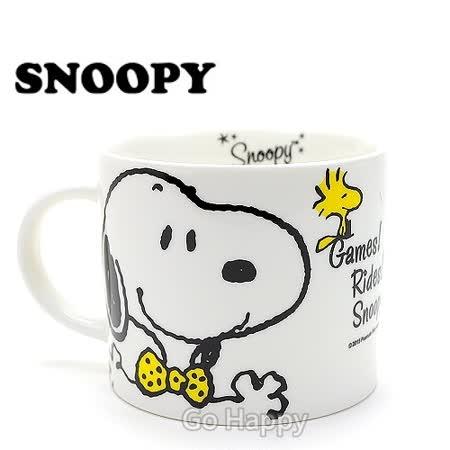 【Snoopy歡樂園】陶瓷馬克湯杯