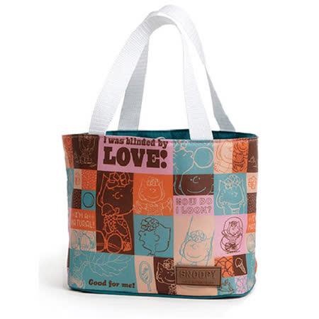 【史努比】拼貼保溫提袋 CL-0055