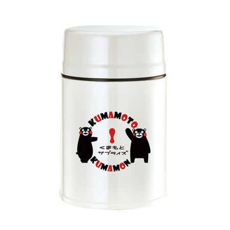 【KUMAMON】酷Ma萌316L鋼極緻燜燒罐(500ml+700ml)