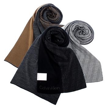 CK/POLO 經典LOGO百搭造型圍巾-多款任選