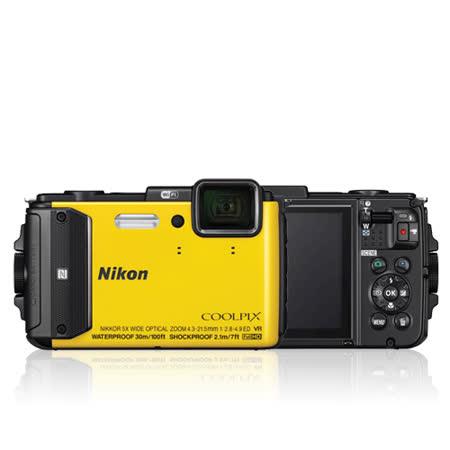 Nikon COOLPIX AW130 防水相機(黃色-公司貨)